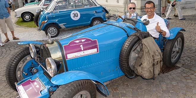 Schloss Bensberg Rallye: Erol Sander & Co. gaben im Oldtimer Gas