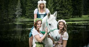 Dirndl-Alpenmaedel