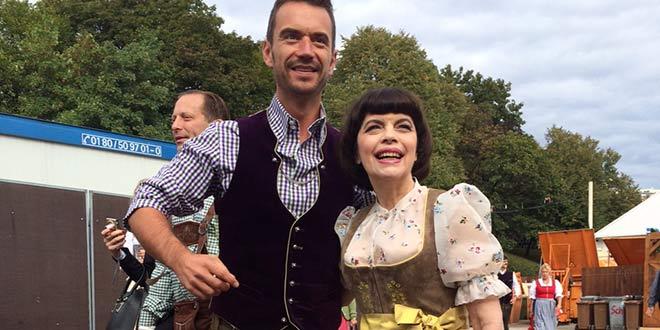 Oktoberfest Theresienwiese: Florian Silbereisen zeigte Mireille Mathieu die Wiesn!