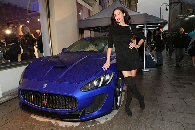 Maserati eröffnet Showroom am Odeonsplatz