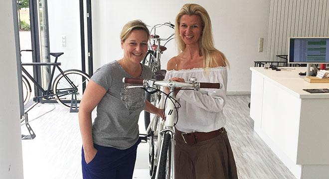 Die Frau hinter Münchens exklusivsten Fahrradshop!
