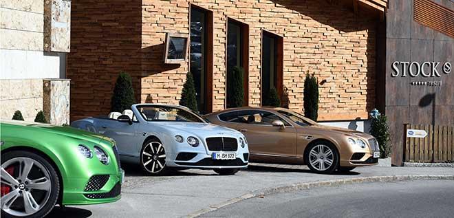 Bentley München: Probefahrt ins Zillertal