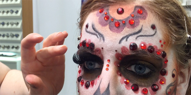 Halloween Schminktipps: Kryolan München zeigt Grusel-Make-ups
