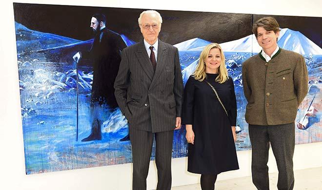 Kunst in Bayern: 'Kosmos Seven' in Schloss Pörnbach