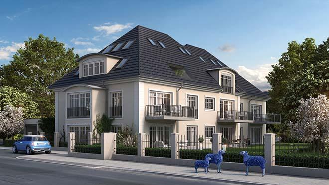 Immobilien Solln: Mehrfamilienhaus im Villencharakter