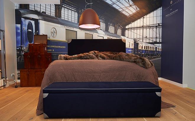Treca Betten: Ein Hauch Orient Express in München