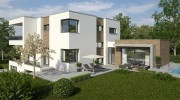 Einfamilienhaus Neubau im Münchner Osten: Sonnenresidenz Zorneding