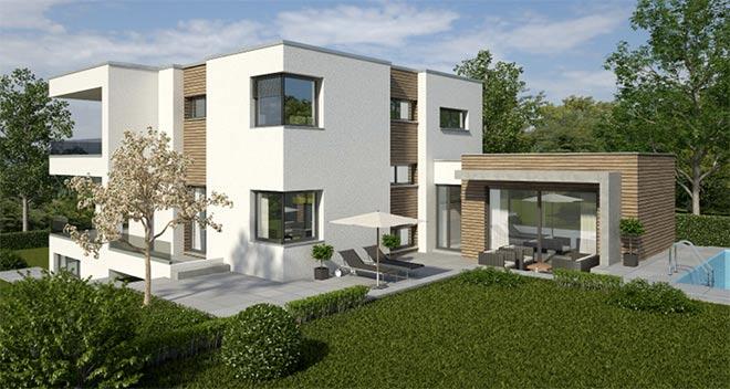 Einfamilienhaus-Neubau