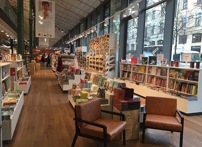 prego Buchhandlung im Eataly Feinkost Store!