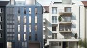 Lehel München: Exklusives Wohnhaus 'The Brick' mit drei außergewöhnlichen Luxuswohnungen