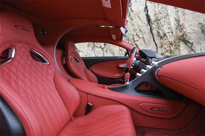 Bugatti-Innenraum