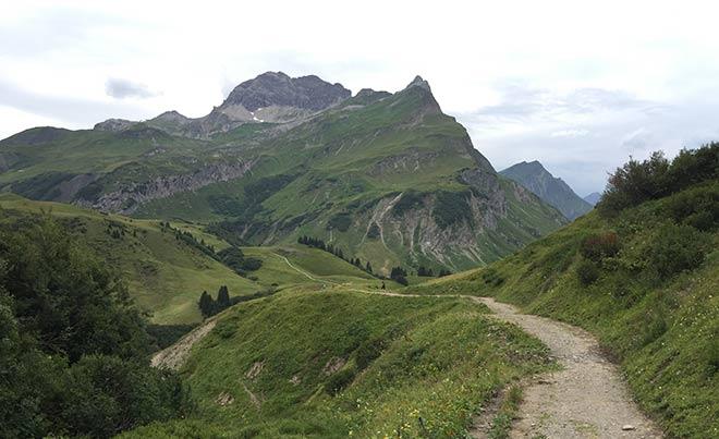 Lech-am-Arlberg-Berglaufstrecke
