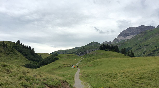 Lecher-Bergwelt