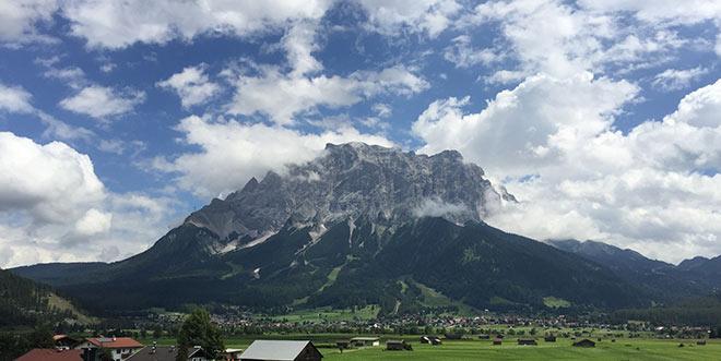 Zugspitze-Lermoos