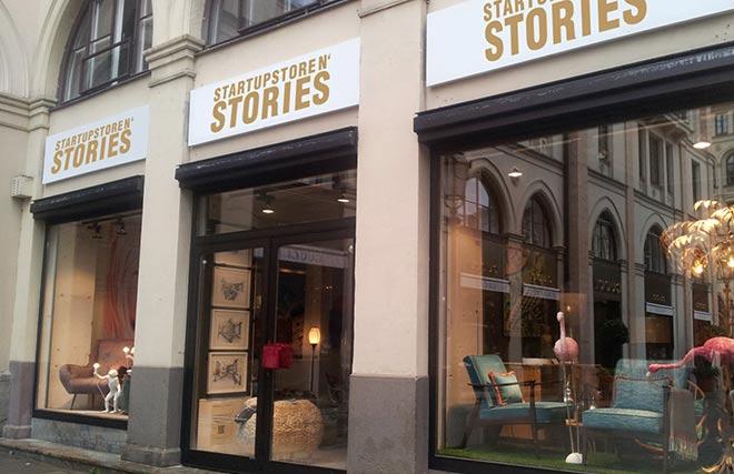 Am 10. November 2016 wird in der Münchner Maximilianstraße 33 der erste Crowdfunding Pop-up Store Deutschlands mit dem Namen STARTUPSTORE N' STORIES eröffnet.