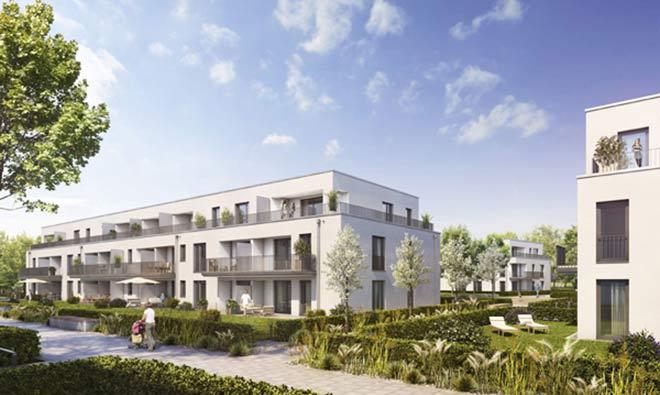 Ein völlig neues Wohngebiet entsteht in Vaterstetten. Fotocredit: neubaukompass
