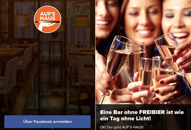 Hol Dir die gratis App 'Aufs Haus' auf Dein Smartphone!