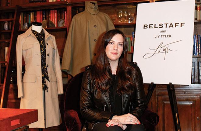 Liv Taylor zeigte ihre zweite Kollektion für Belstaff, welche es ab Januar 2017 geben wird. Fotocredit: Isa Foltin - GettyImages for Belstaff