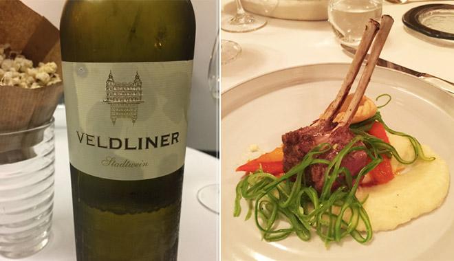 Wein und Lamm sind auch regional. Auch als Etikett gibt es das Schloss ganz exklusiv. Das NUART Lamm ist ein Klassiker auf der Gourmetrestaurant-Karte.
