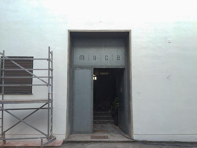 Noch ist das MUCA Museum noch nicht fertig.