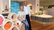 Obermaier Bäder: Neue Abyss-Kollektion und Holzkunst im Showroom
