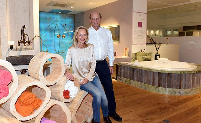 Josef Obermaier mit Frau Marianne. Fotocredit: Günther Reisp