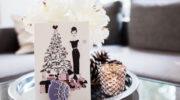 Exklusive Weihnachtsgrußkarten von Münchner Unternehmerin