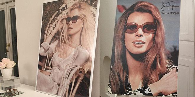 Senta Berger trug bereits in den 60er-Jahren Rodenstock Brillen.