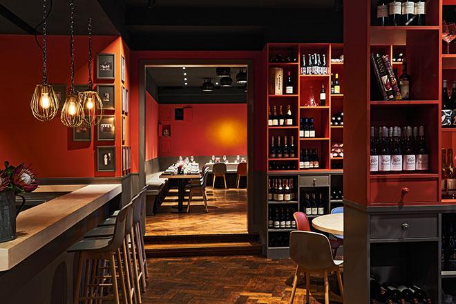 avva fine dine Restaurant mit Weinhandlung