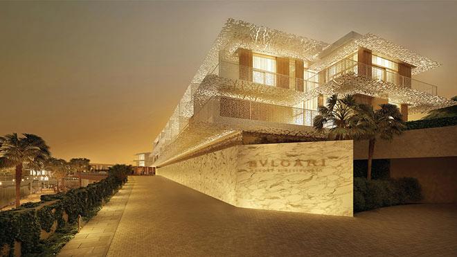 Das weltweit fünfte Bvlgari Resort eröffnet 2017 in Dubai