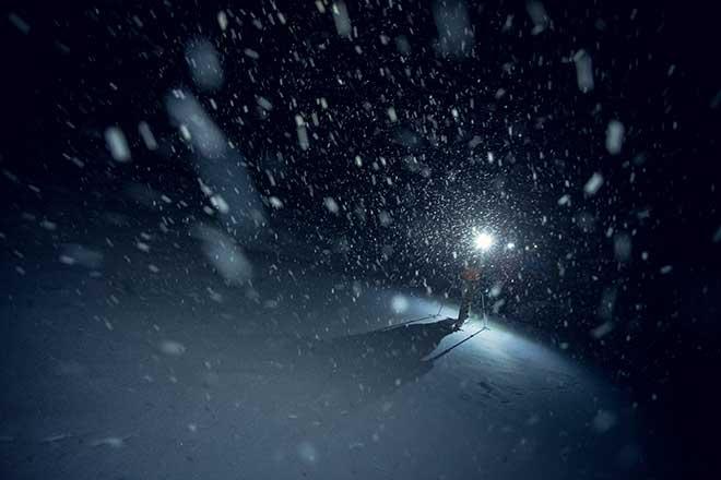 Wintersport am Tegernsee geht jetzt auch bis spät in die Nacht. Fotocredit: Hansi Heckmair