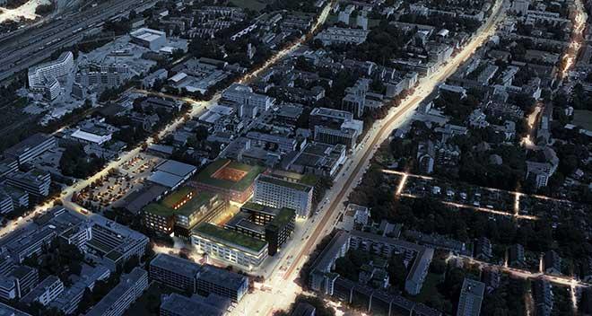 Exklusive Gewerbeimmobilien München entstehen derzeit in Berg am Laim. Fotocredit: Art Invest