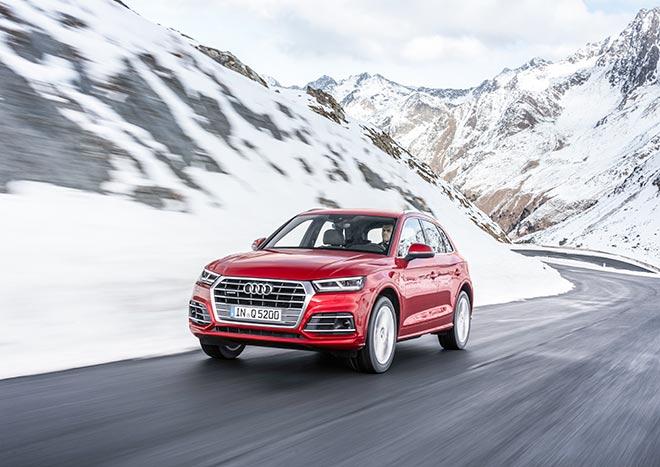Den Audi Q5 schickt der Ingolstädter Autokonzern in den Automarkt.