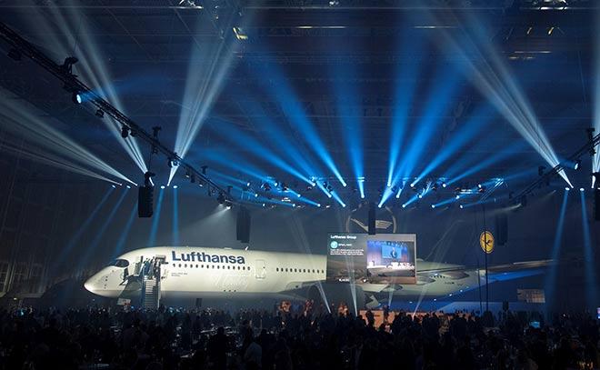 Flughafen München Lufthansa Hangar