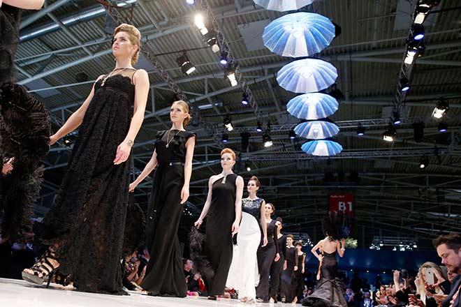 Während der Inhorgenta wird eine Messe München Halle zum Catwalk. Fotocredit: API - Jessica Kastner