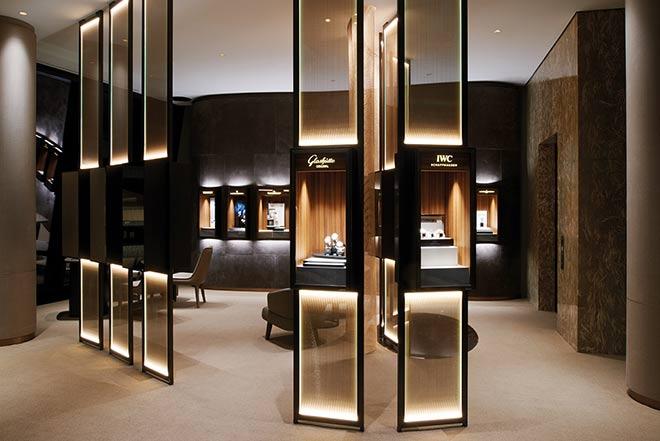 Einer der exklusiven Uhren Salons bei Wempe. Fotocredit: Isa Foltin, GettyImages