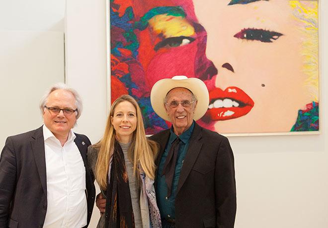 Pop Art Mitbegründer James F. Gill
