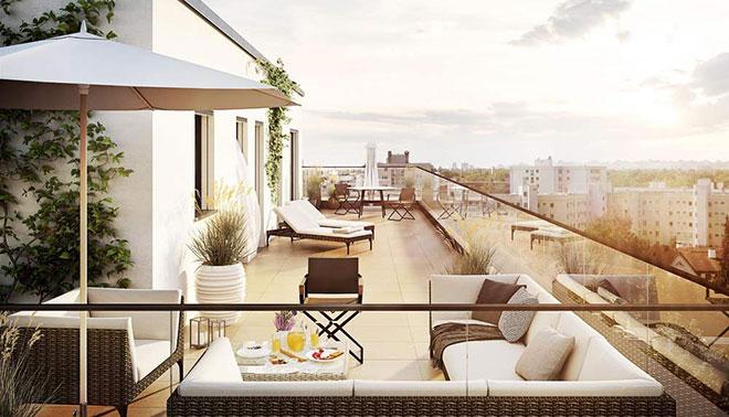 Traum-Ausblicke haben die neuen Apartments. Fotocredit: neubaukompass.de