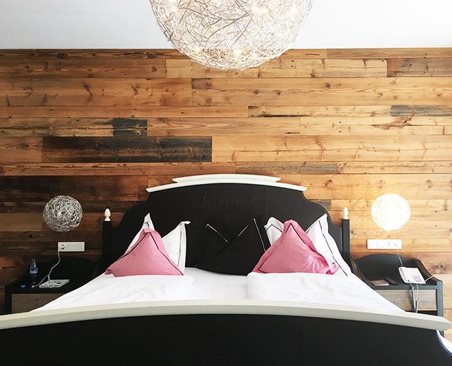 Insgesamt gibt es drei 'Luis Trenker' Suiten im Hotel 'Das Kronthaler' am Achensee.