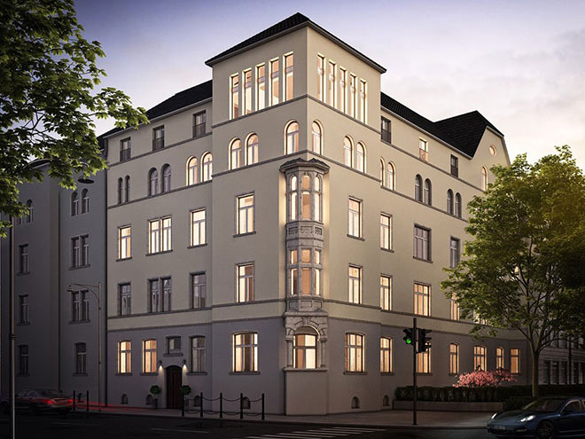 Mozart Palais in der Münchner Ludwigvorstadt