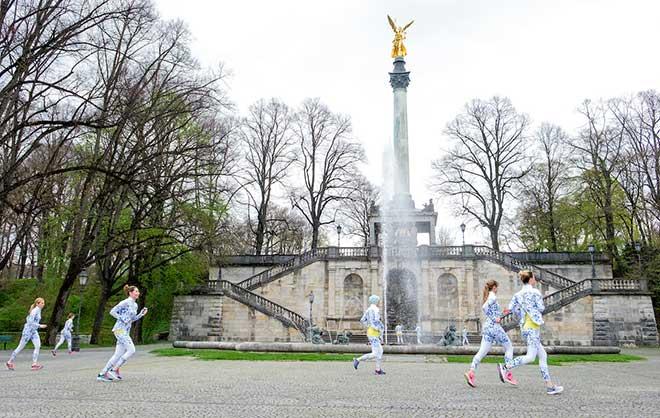 Womenrunning mit sportlichen Engeln :-) Fotocredit: Hans Herbig Photography