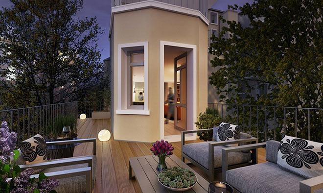 Zwei Wohnungen mit Dachterrasse sind einmalig für München!