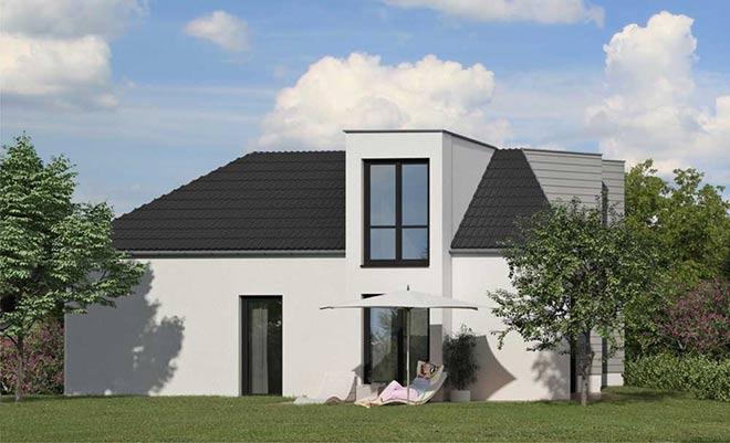 Atelierhaus über zwei Etagen. Fotocredit: neubaukompass.de