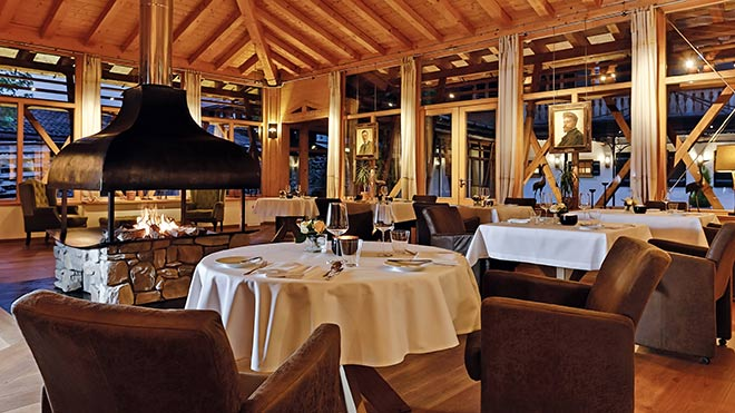 Gourmetrestaurant am Tegernsee: Dichterstub'n im Hotel Egerner Höfe. Fotocredit: Jelena Marco