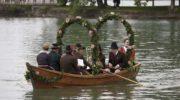 Tutzing feiert Ortsjubiläum mit Fischerhochzeit