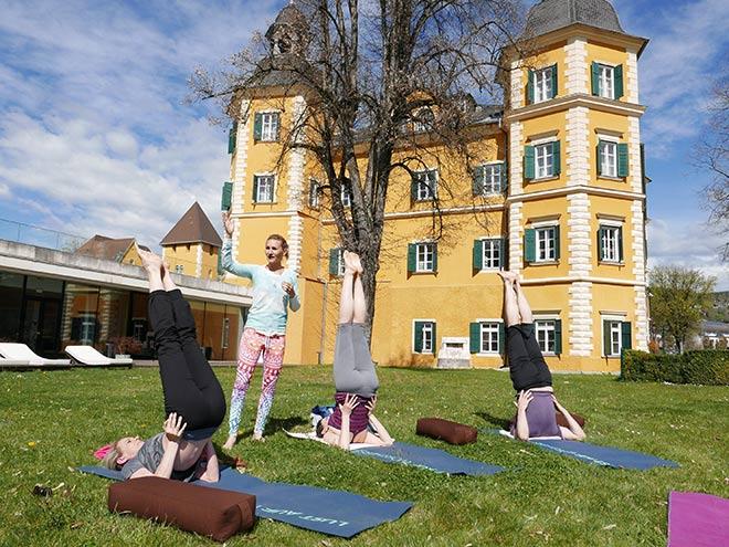 Yoga Urlaub mit Yoga Expertin Beate Kalt