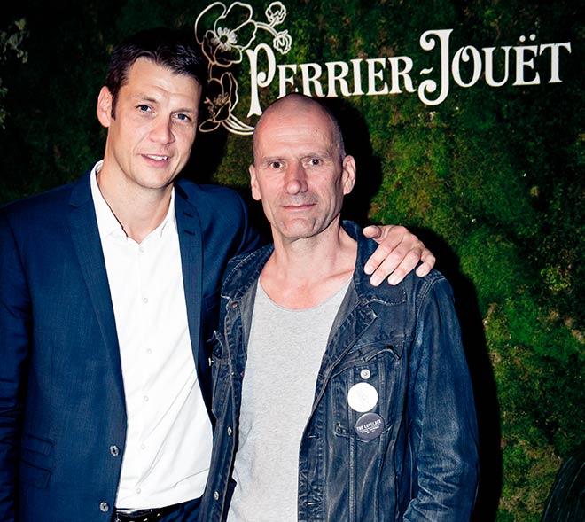 Christian Seel (Pernod Ricard Deutschland) mit Michi Kern (Hotel Lovelace).