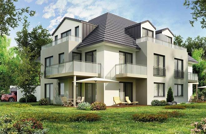 Immobilientrend Eigentum in kleinem Mehrfamilienhaus