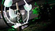 Süffisante Champagner-Party von Perrier-Jouët im neuen City-Hotel 'Lovelace'