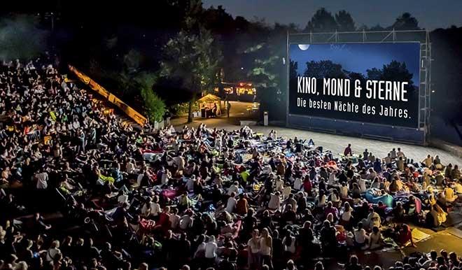 Kino Open Air im Westpark. Fotocredit: Günther Lenz